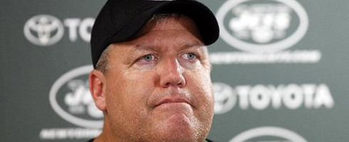 Rex Ryan New York Jets Head Football Coach