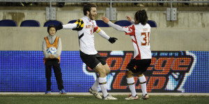 Patrick Mullins Scores Twice for the Terps Last Night